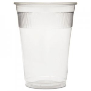 GEN Individually Wrapped Plastic Cups, 9oz, Clear, 1000/Carton GENWRAPCUP
