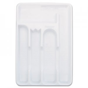 Rubbermaid Small Cutlery Tray, Plastic, 6/Case RUB2919RDWHICT 2919RDWHICT