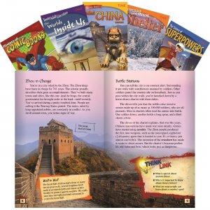 Shell TIME Informational Text Grade 6 Set 2, 5-Book Set 25926 SHL25926