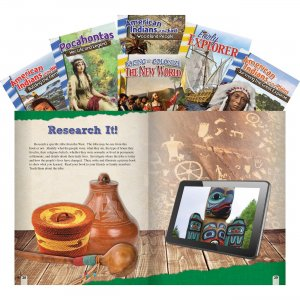 Shell Grades 4-5 New World 6-book Set 25947 SHL25947