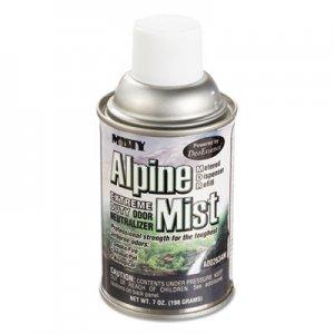 MISTY Metered Odor Neutralizer Refills, Alpine Mist, 7 oz Aerosol, 12/Carton AMR1039401 1039401