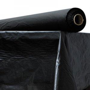 """Atlantis Plastics Plastic Table Cover, 40"""" x 300 ft Roll, Black ATL2TCBK300 2TCBK300"""