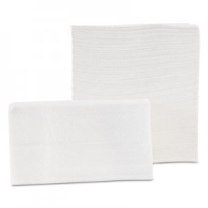 Morcon Paper Tall-Fold Napkins, 1-Ply, 7 x 13 1/2, White, 500/Pack, 20 Packs/Carton MORD20500 MOR