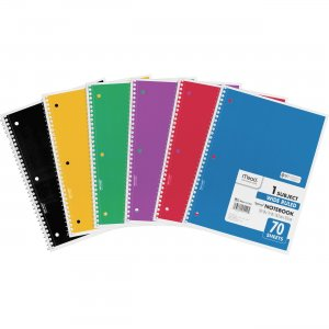 Mead Spiral Bound 1-subject Notebooks 05510BD MEA05510BD