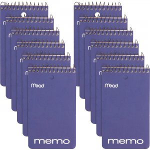 Mead Wirebound Memo Book 45354PK MEA45354PK