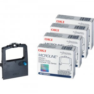Oki 320/321/ 100 Cartridge Ribbon 52102001BD OKI52102001BD