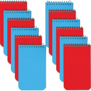 Rediform Wirebound Memo Notebooks 31120BX RED31120BX