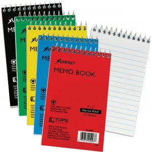 Ampad Memo Book 25093BD TOP25093BD