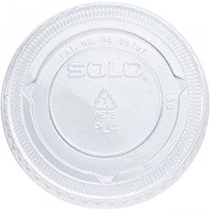 Solo PET Plastic Souffle Portion Cup Lids PL4N SCCPL4N