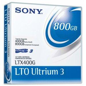 Sony LTO3 Ultrium Data Cartridge, 400GB/800GB LTX400G/4