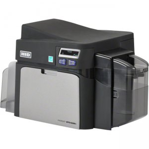 Fargo ID Card Printer/Encoder Dual Sided 052316 DTC4250e