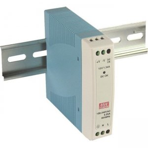 Mean Well 10W Single Output Industrial DIN Rail Power Supply MDR-10-24