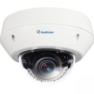 GeoVision 5MP H.264 Low Lux WDR IR Vandal Proof IP Dome 84-EVD5100-0010 GV-EVD5100