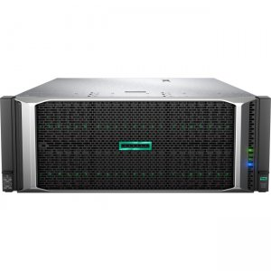 HP ProLiant DL580 Gen10 8164 4P 256GB-R P408i-p 8SFF 4x1600W PS Perf Server 869845-B21