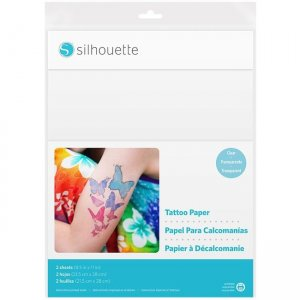 Silhouette Temporary Tattoo Paper MEDIA-TATTOO-3T