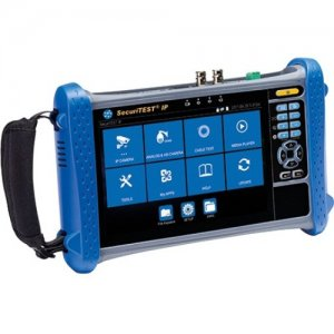 IDEAL NETWORKS SecuriTEST IP - Digital/Analog/HD Coax CCTV Tester R171000