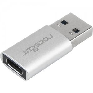 Rocstor Premium USB 3.0 Hi-Speed Adapter, USB Type A to USB-C (M/F) Y10A207-A1