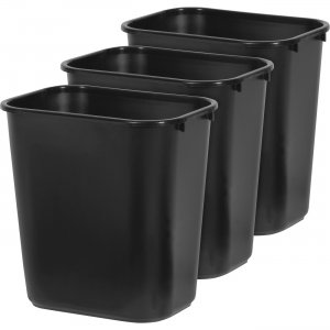 Rubbermaid Commercial Deskside Wastebasket 16328 RCP16328