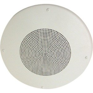 Constructa Ceiling-Mount Dual-Voltage Speaker (White) S8-70/25