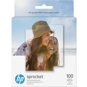 HP Sprocket Photo Paper-100 Sticky-Backed Sheets/2 x 3 in 1DE40A