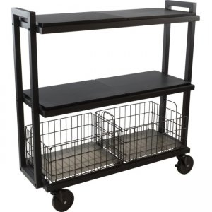 urb SPACE 3-Tier Cart System - Black 23350329