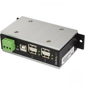 StarTech.com 4-Port Industrial USB Hub - USB 2.0 - 15kV ESD Protection HB20A4AME