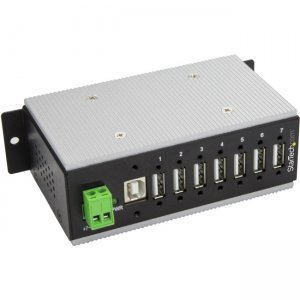 StarTech.com 7-Port Industrial USB Hub - USB 2.0 - 15kV ESD Protection HB20A7AME