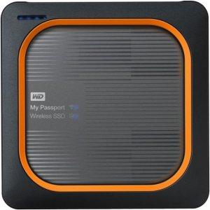 WD My Passport Wireless SSD WDBAMJ0010BGY-NESN