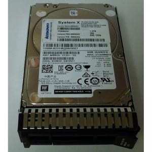 "Lenovo-IMSourcing 1.2TB 10K 12Gbps SAS 2.5"" G3HS 512e HDD 00NA261"