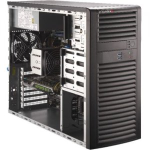 Supermicro SuperWorkstation SYS- (Black) SYS-5039A-i 5039A-i