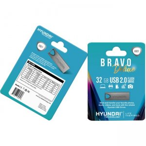 Hyundai Bravo Deluxe Keychain U2BK/32GASG