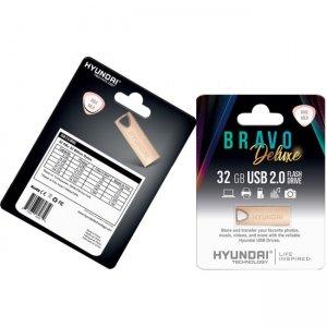 Hyundai Bravo Deluxe Keychain U2BK/32GARG