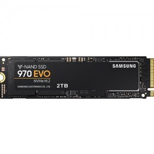Samsung 970 EVO 2TB NVMe M.2 Client SSD for Business MZ-V7E2T0E