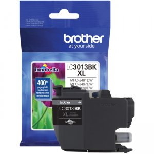 Brother High Yield Black Ink Cartridge (approx. 400 pages) LC3013BK