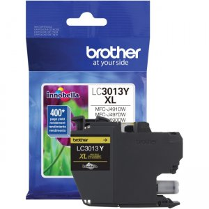 Brother High Yield Yellow Ink Cartridge (approx. 400 pages) LC3013Y