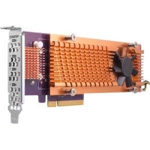 QNAP Quad M.2 2280 PCIe (Gen2 x4) NVMe SSD Expansion Card QM2-4P-284