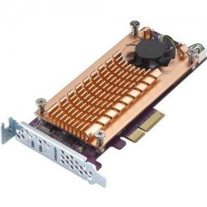 QNAP Dual M.2 22110/2280 SATA SSD Expansion Card QM2-2S-220A