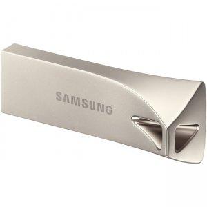 Samsung USB 3.1 Flash Drive BAR Plus 128GB Champagne Silver MUF-128BE3/AM