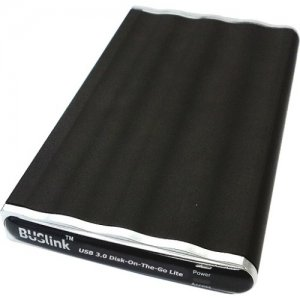 Buslink XP Compliant USB 3.0 Disk-On-The-Go External Slim SSD Drive for All OS DL-3T8SDU3XP