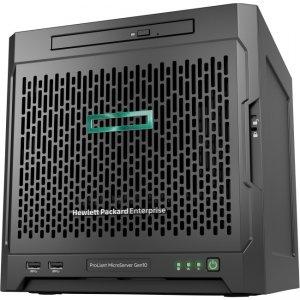 HPE ProLiant MicroServer Gen10 X3421 1P 8GB-U 4LFF NHP SATA 200W PS Soln Server P04923-S01