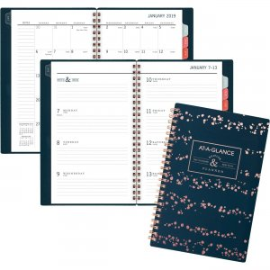 At-A-Glance Splatter Dots Weekly/Monthly Planner 5148D200 AAG5148D200