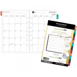 At-A-Glance Harmony 2 Page Per Month Monthly Planner Refill 60994211 AAG60994211