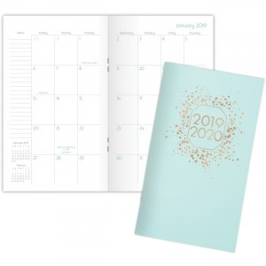 Mead Cambridge Ballet Monthly Pocket Planner 5127T021 MEA5127T021