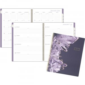Mead Cambridge Crystal Weekly/Monthly Planner 5129905 MEA5129905
