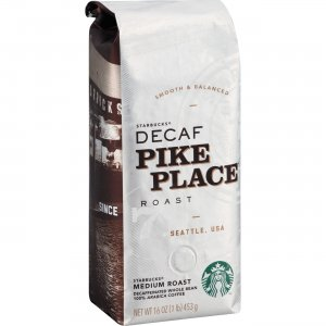 Starbucks Pike Place Decaf Whole Bean Coffee 11015640 SBK11015640