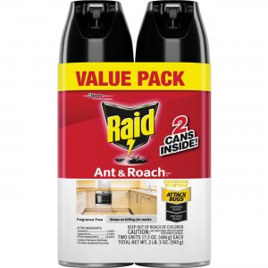 Raid Ant/Roach Killer Spray 697322 SJN697322