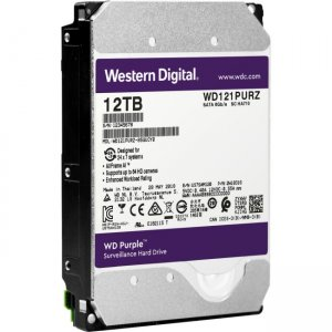 WD Purple 12TB Surveillance Hard Drive WD121PURZ