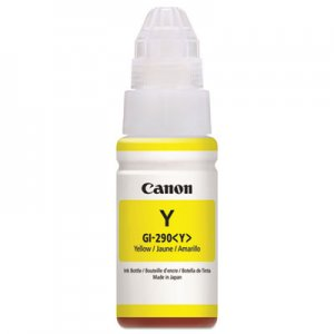 Canon 1598C001 (GI-290) High-Yield Ink Bottle, 7000 Page-Yield, Yellow CNM1598C001 1598C001
