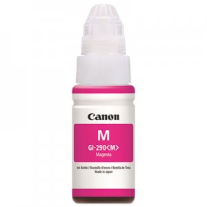 Canon (GI-290) High-Yield Ink Bottle, 7000 Page-Yield, Magenta CNM1597C001 1597C001