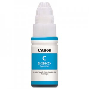 Canon 1596C001 (GI-290) High-Yield Ink Bottle, 7000 Page-Yield, Cyan CNM1596C001 1596C001